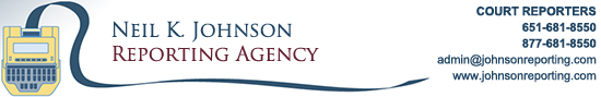 Neil K. Johnson Reporting Agency